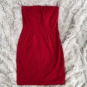 Express • Strapless Mini Dress